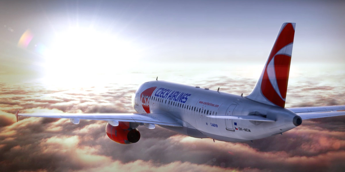 Czech Airlines – Catering