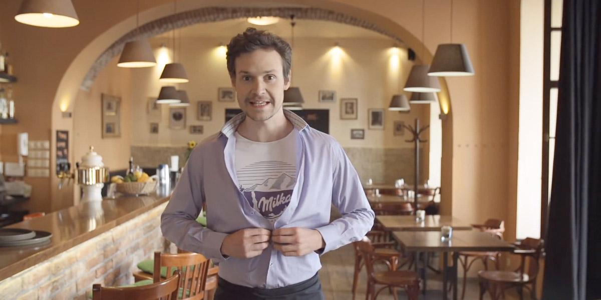 Milka – Molekulární překvapení v restauraci
