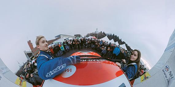 Prague Rallysprint – 360° onboard